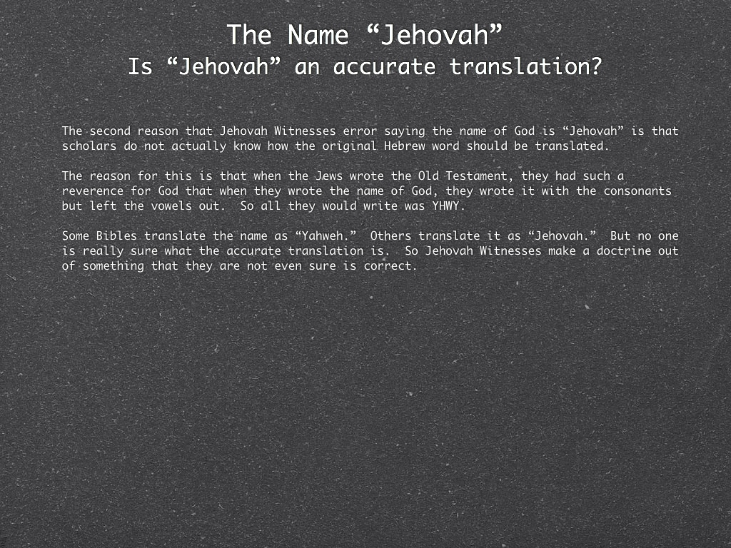 The Truth about Jehovah Witnesses - Faith without Walls