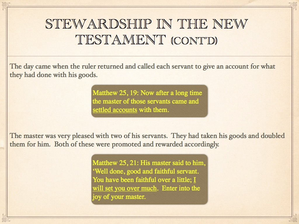 Stewardship and the Will of God - Faith without Walls
